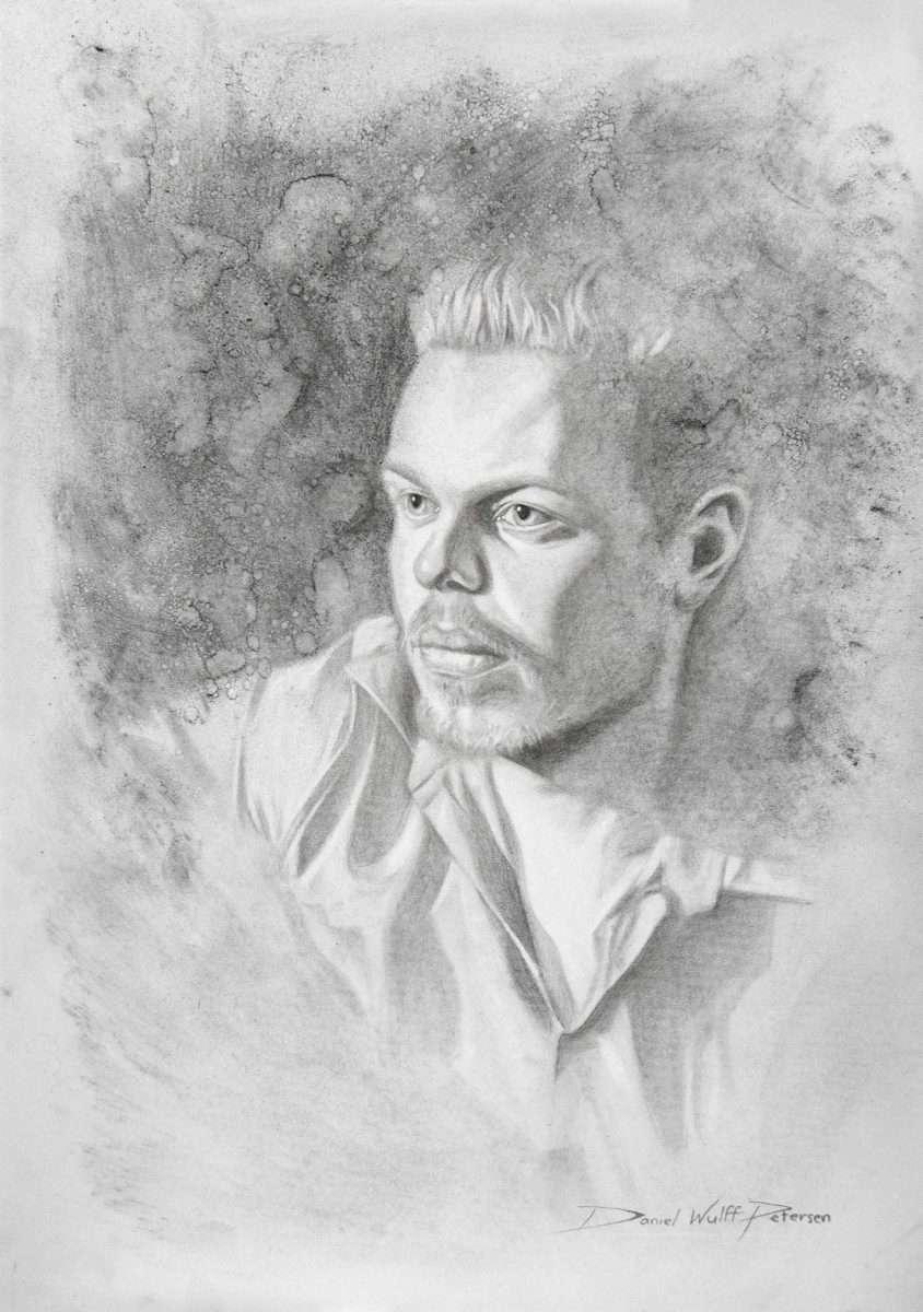 Daniel Wulff Petersen selfportrait